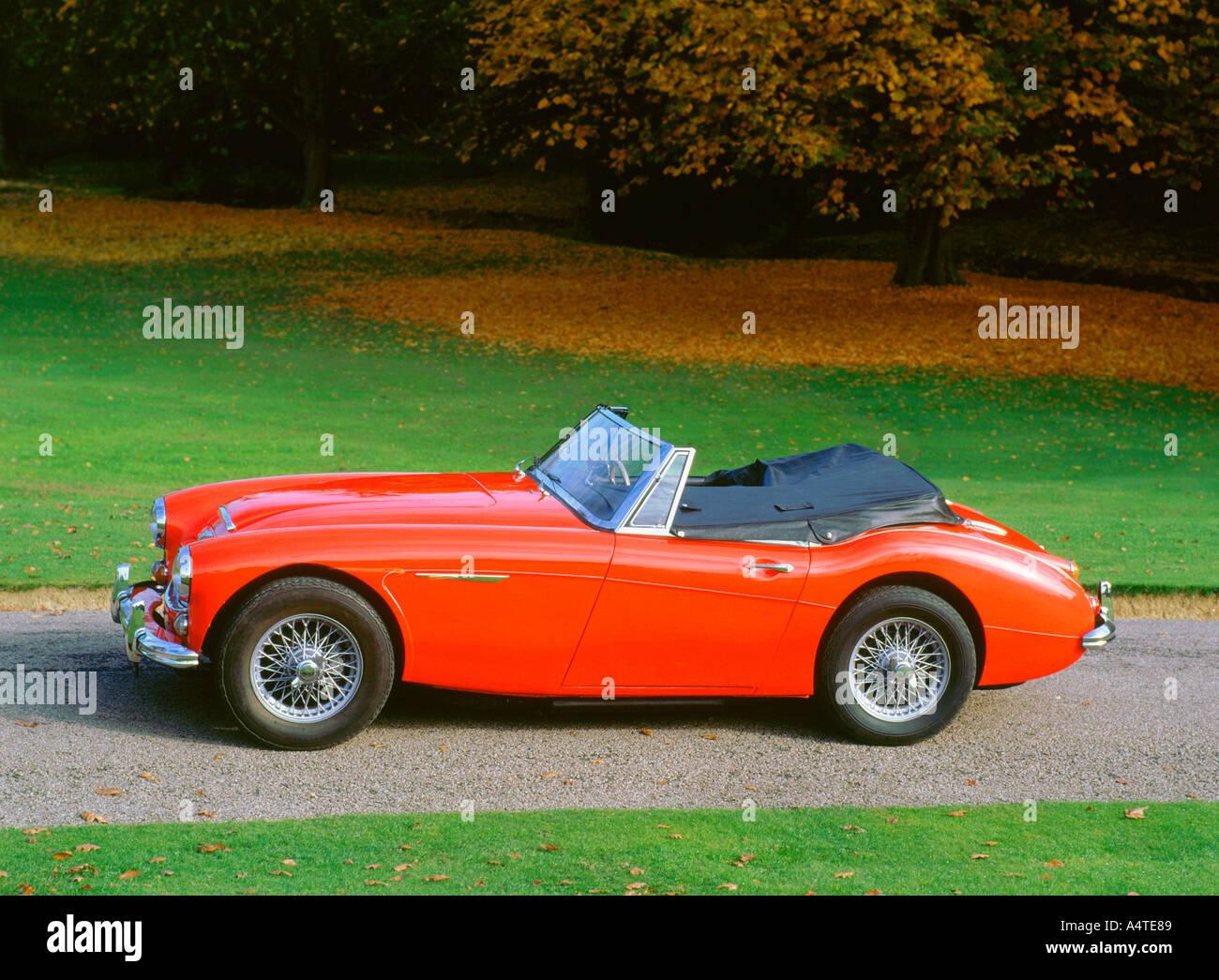 1961 Austin Healey 3000 mk2 Stockbild