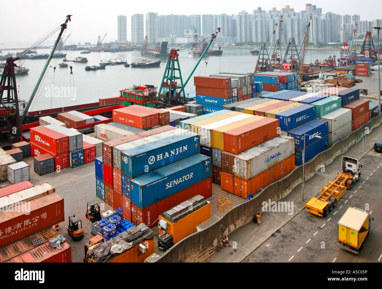 Handel In Hong Kong China Asien Stockbild