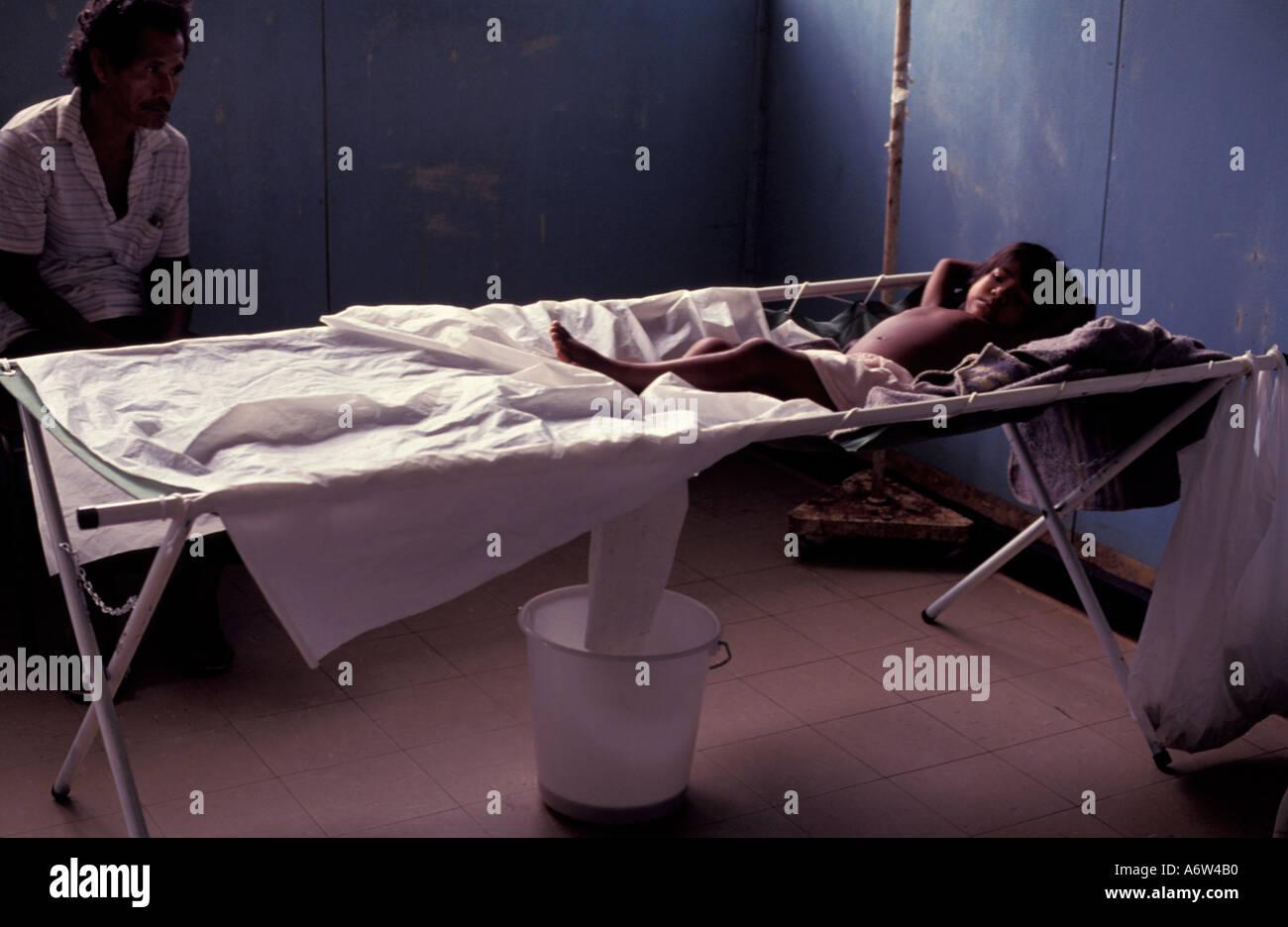 Cholera-Lateinamerika Stockbild