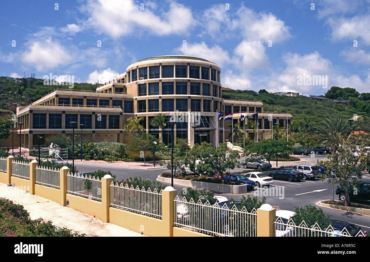 Bank van de Nederlandse Antillen das Finanzinstitut Stockbild