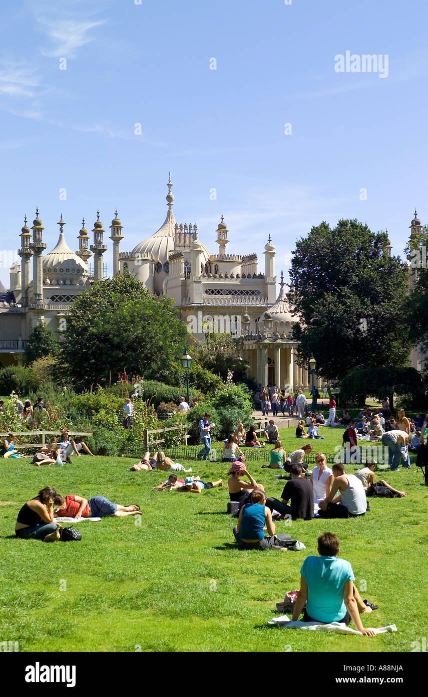 Brighton Sussex England Stockbild
