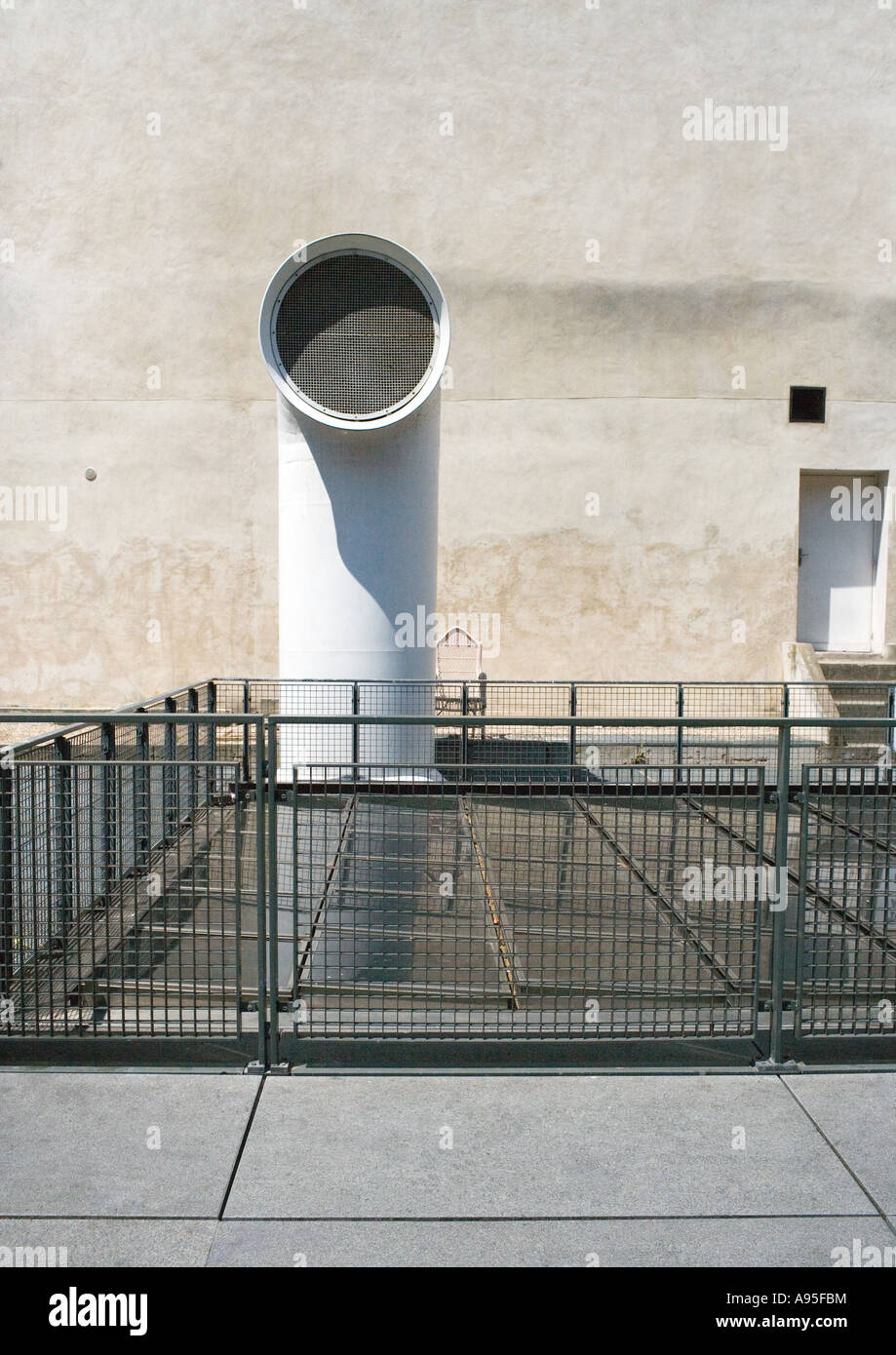 Luftkanal Stockbild