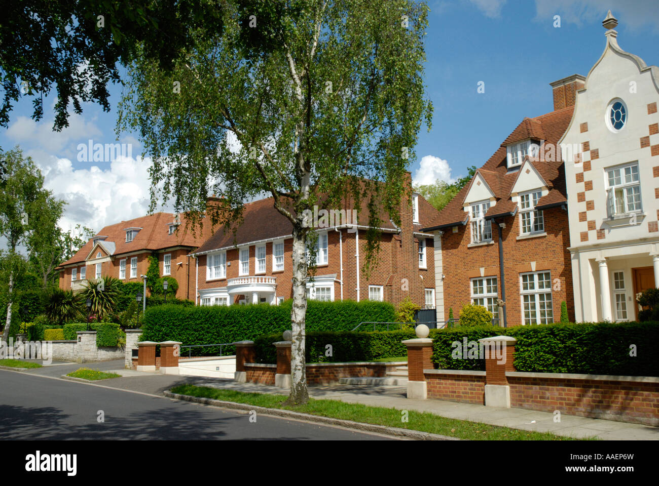 posh houses hampstead stockfotos posh houses hampstead bilder alamy. Black Bedroom Furniture Sets. Home Design Ideas