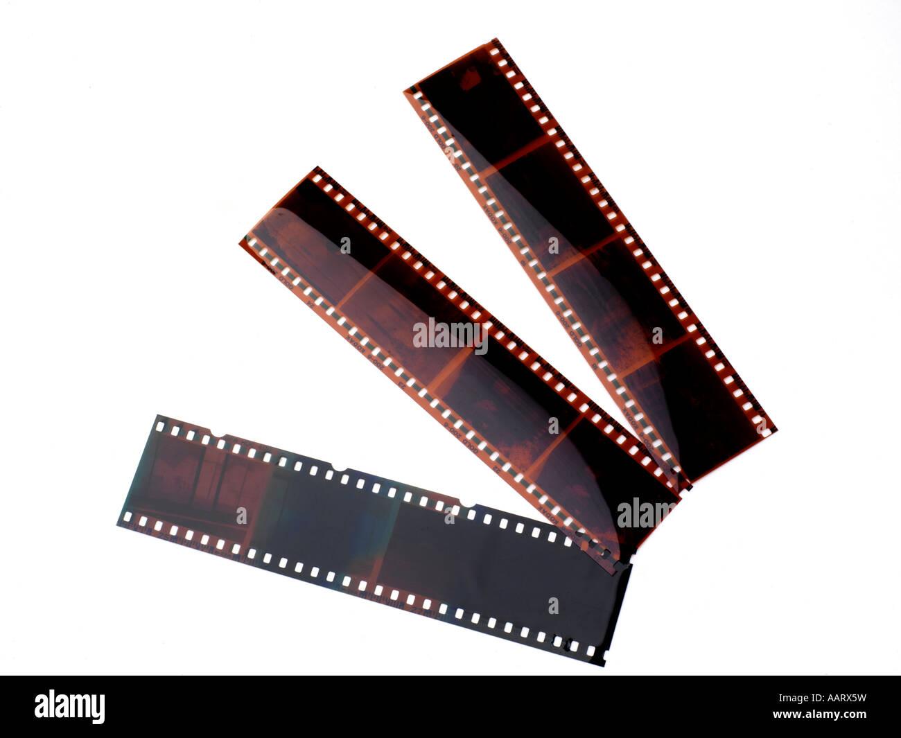 Negativfilm Stockbild