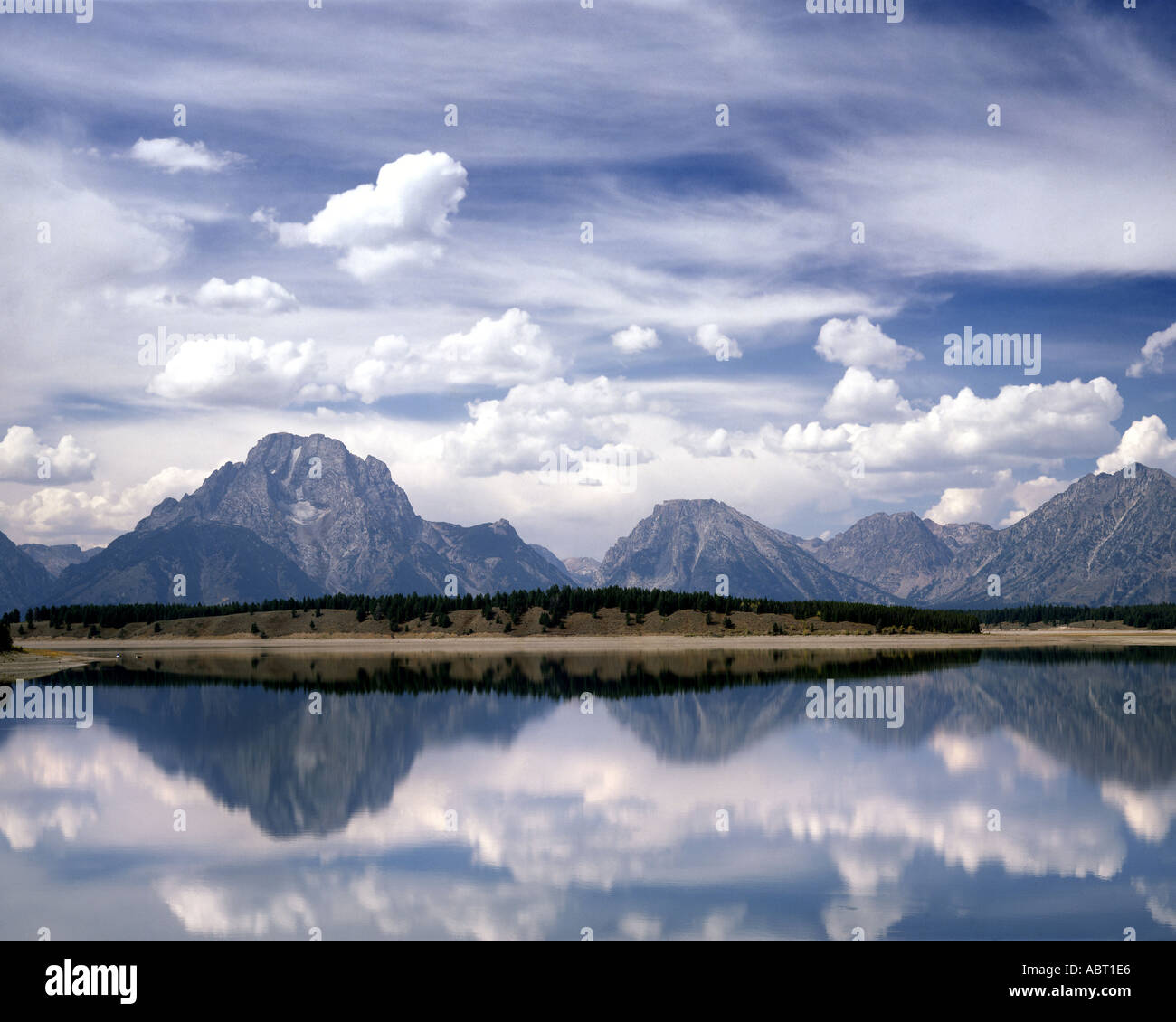 USA - WYOMING: Grand Teton Nationalpark Stockbild