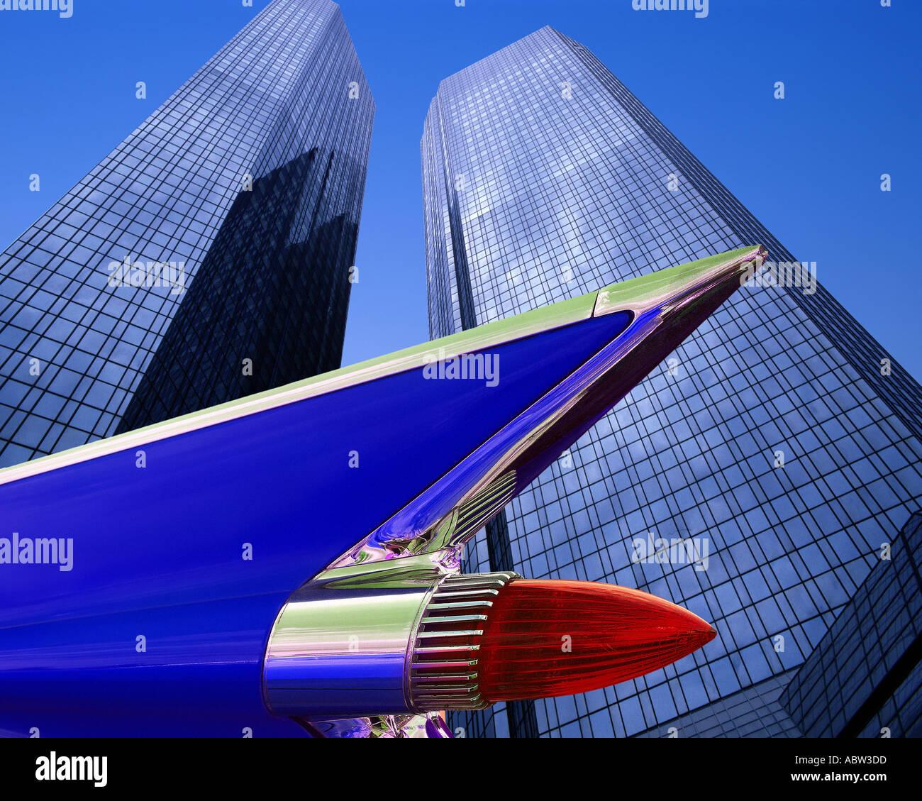 DE-FRANKFURT: Deutsche Bank Hauptsitz Stockbild