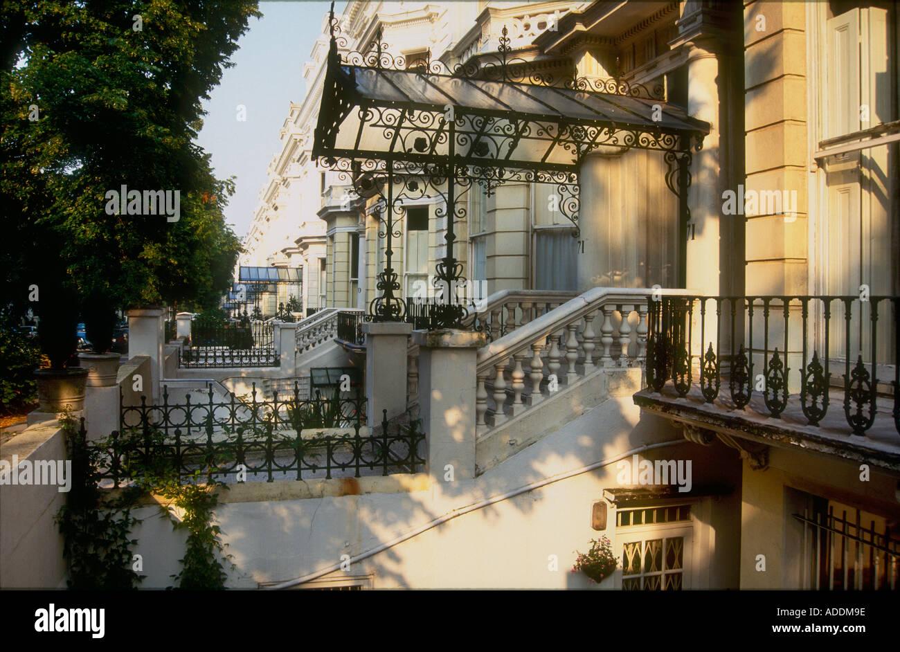 gro e reiche periode villen 1860 s viktorianischen h user holland park in london mit. Black Bedroom Furniture Sets. Home Design Ideas