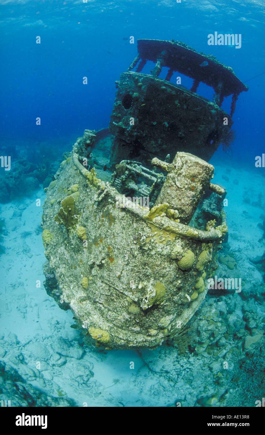 Curacao Niederlaendische Antillen Stockbild
