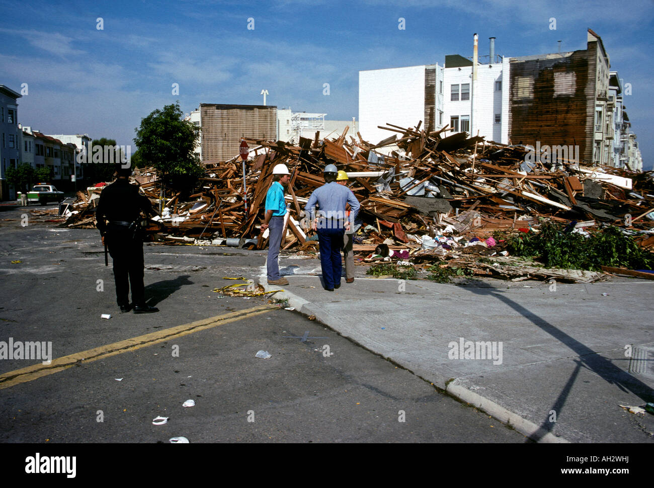 Oktober 17 1989 Loma Prieta Erdbeben Schäden Loma Prieta Erdbeben