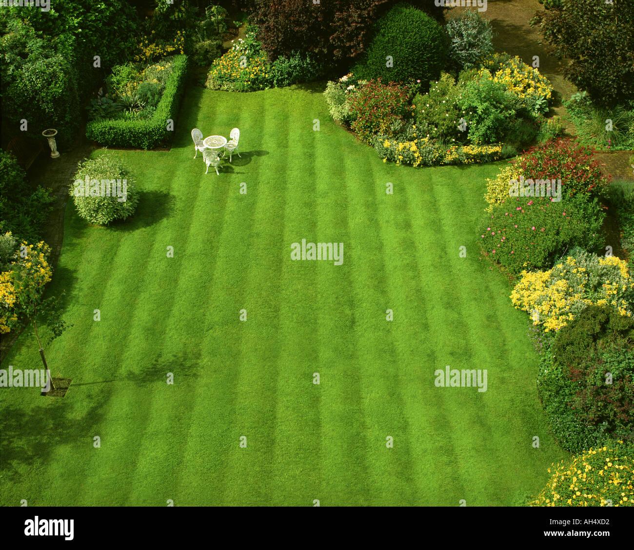 GB - GLOUCESTERSHIRE: Garten-Szene am Parkgate in Cheltenham Stockbild