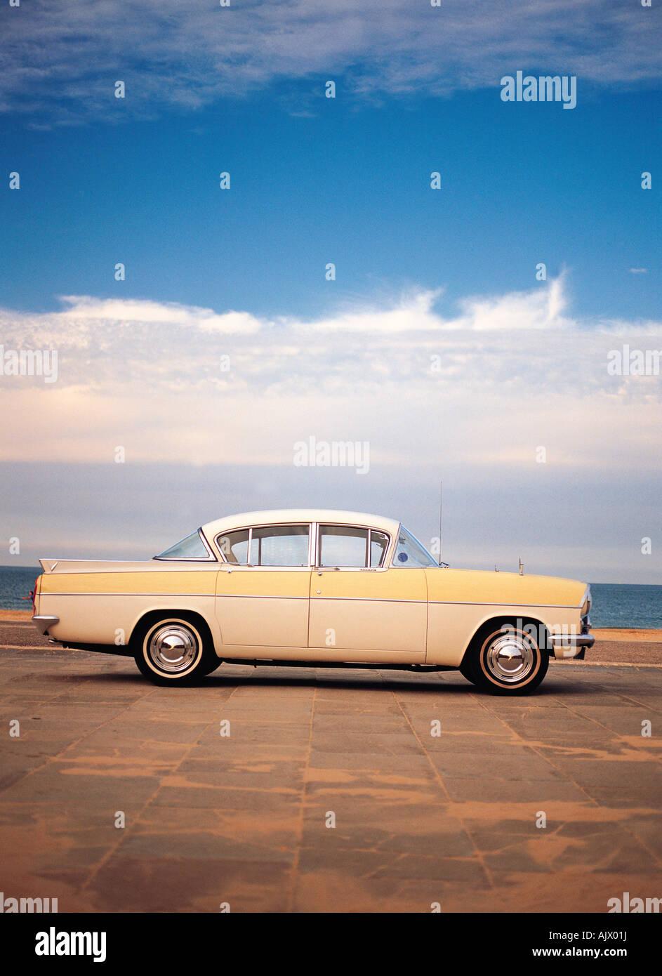 Oldtimer. der 1950er Jahre. Vauxhall Cresta. Britische. Stockbild