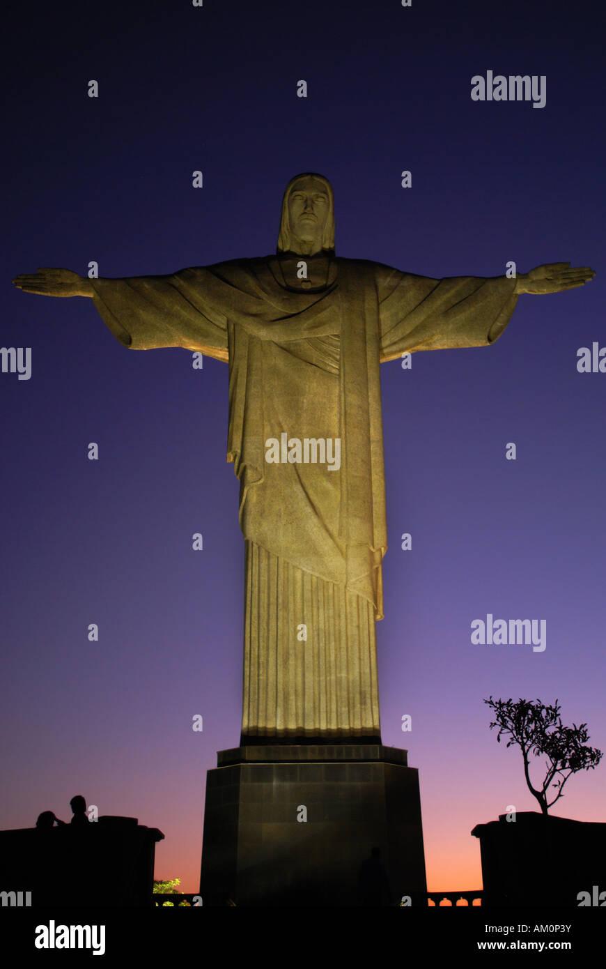 Christus der Erlöser, Rio De Janeiro, Brasilien Stockbild