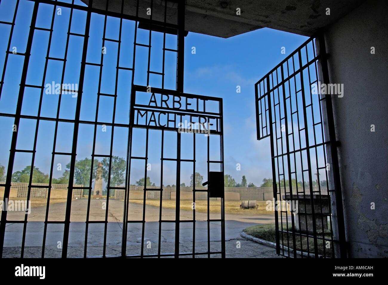 sachsenhausen concentration camp brandenburg germany stockfotos sachsenhausen concentration. Black Bedroom Furniture Sets. Home Design Ideas