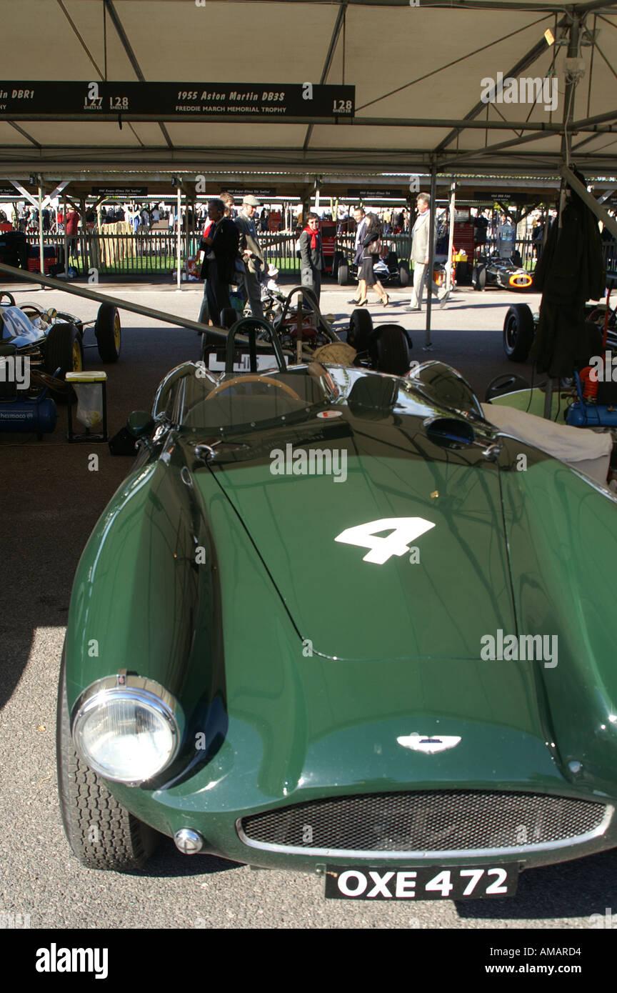 1955 Aston Martin DB3S Stockbild