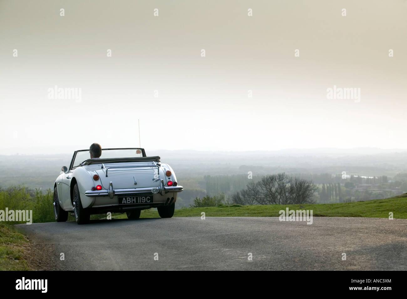 Austin Healey Sportwagen Stockbild