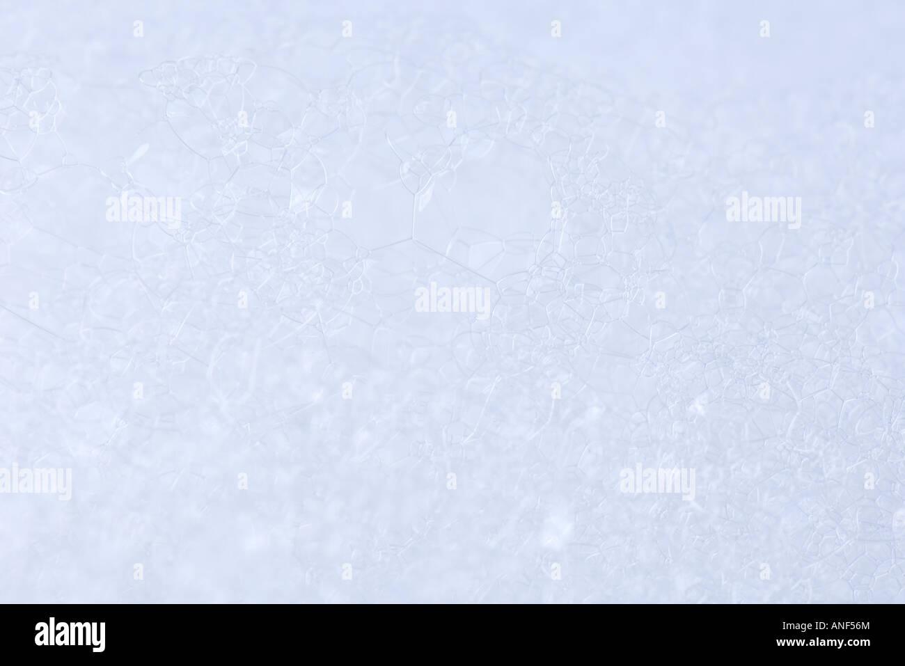 Seifenblasen, extreme Nahaufnahme Stockbild