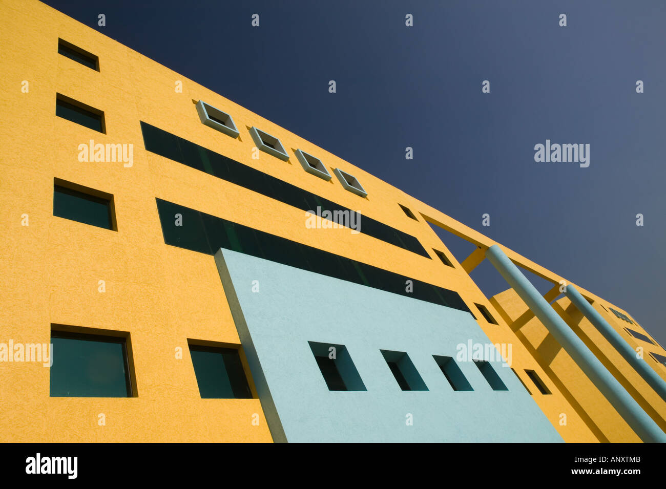 Andhra Pradesh, Indien, Hyderabad: HITEC Stadt, Major Center der indischen Call Centre Softwareindustrie. Kanbay Stockfoto