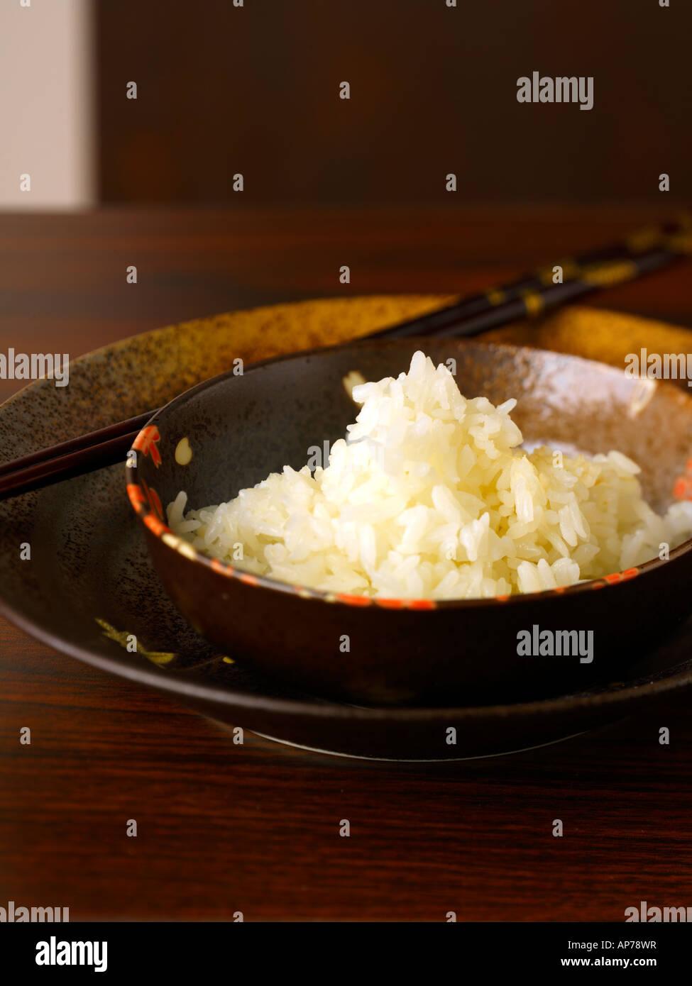 Sushi Reis Gohan Stockbild