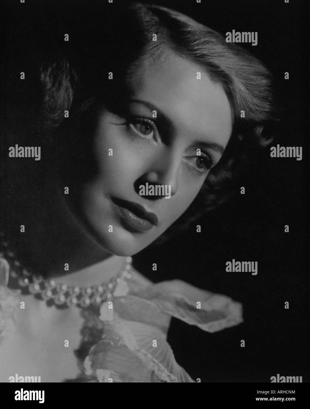 """""""Kerr, Deborah, 30.9.1921 - 16.10.2007, britische Schauspielerin, Portrait, 1948,""""Porträts des britischen Stockbild"""