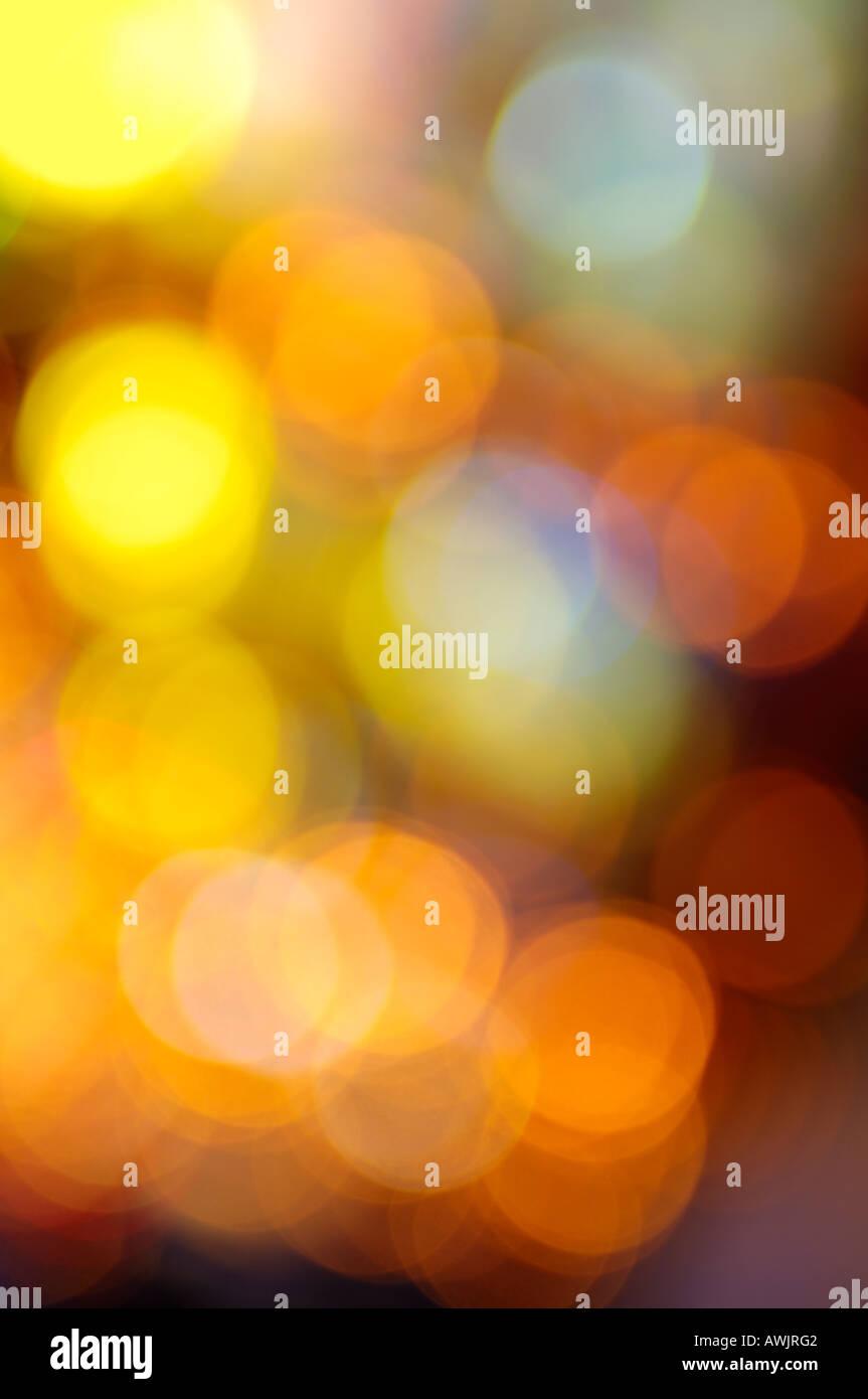 Abstrakte Festplatz Farblicht Stockbild