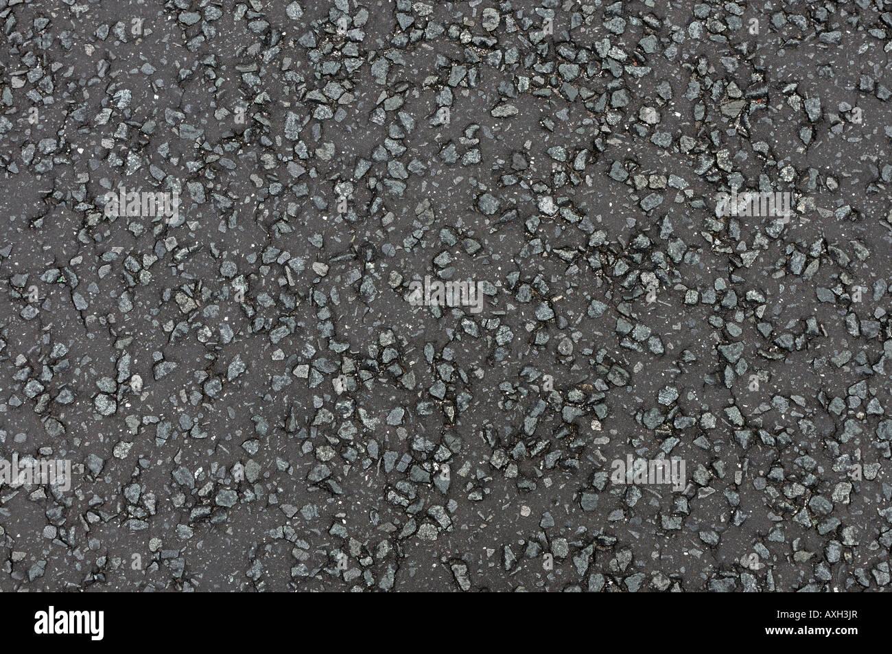 Asphaltierte Straße Muster Stockbild