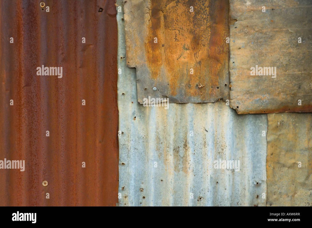 Detail der verlassenen Hütte im historischen Goldgräberstadt, Hill End, New-South.Wales, Australien, Pazifik Stockbild