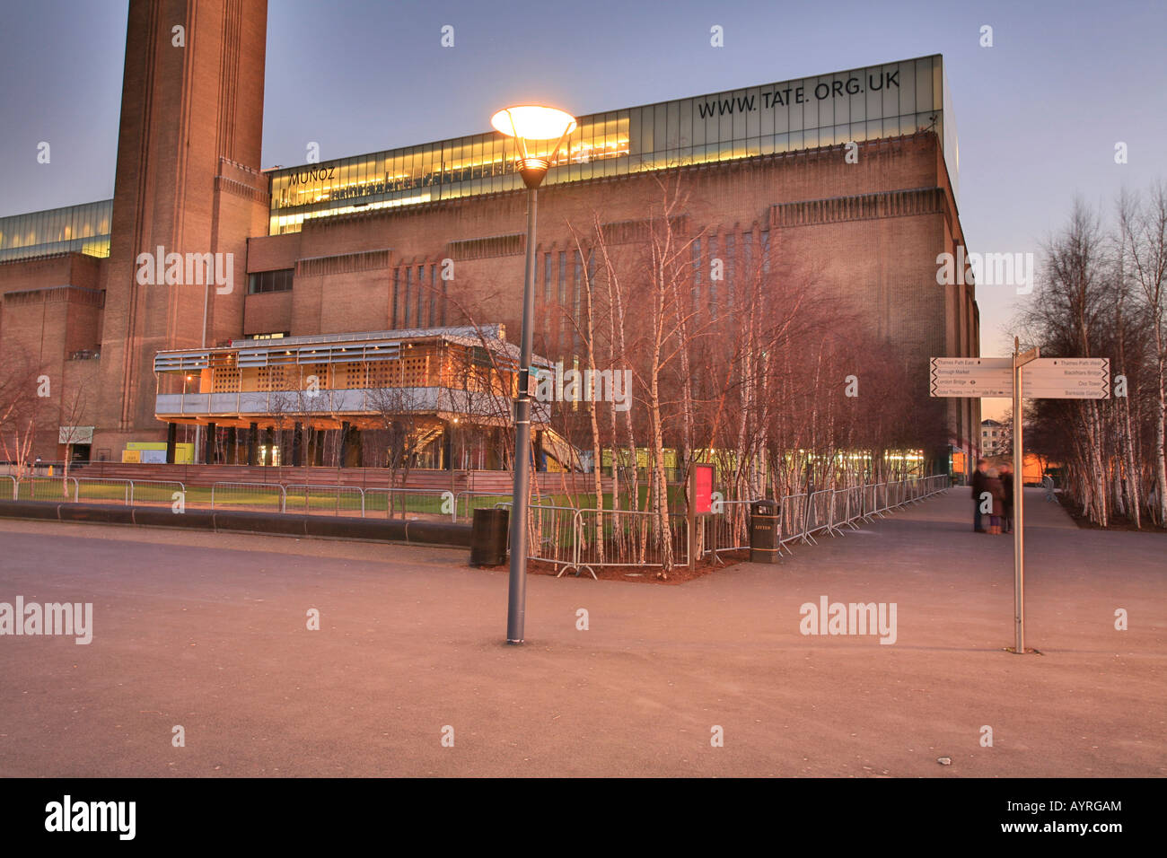 Tate Modern Gallery, London, England, UK Stockbild