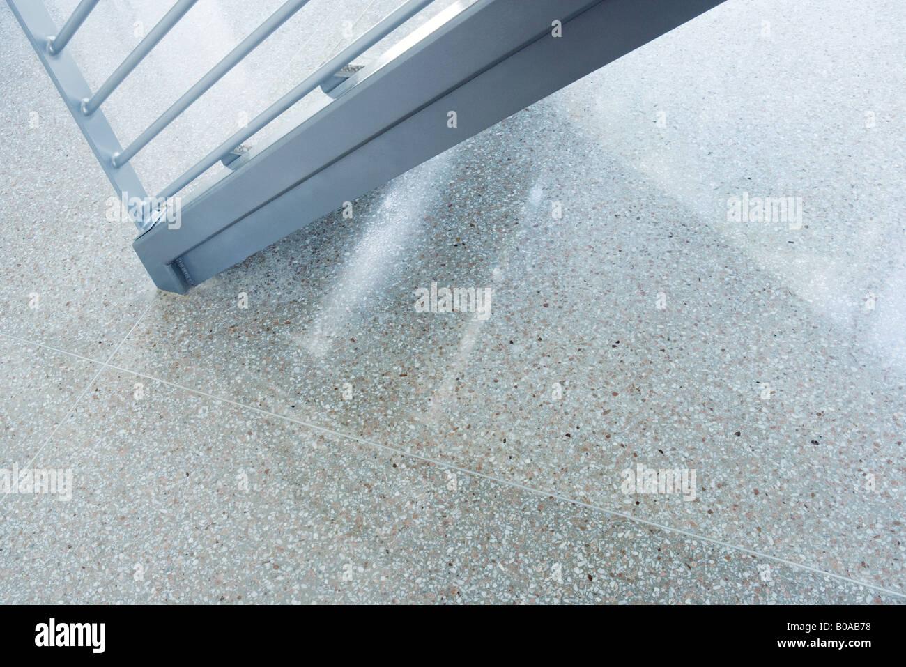 Bannister, beschnitten, Ansicht Stockbild