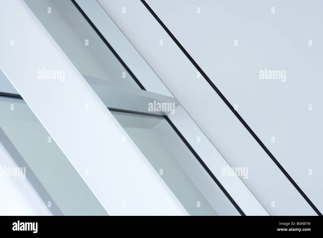 Architekturdetail, beschnitten Stockbild