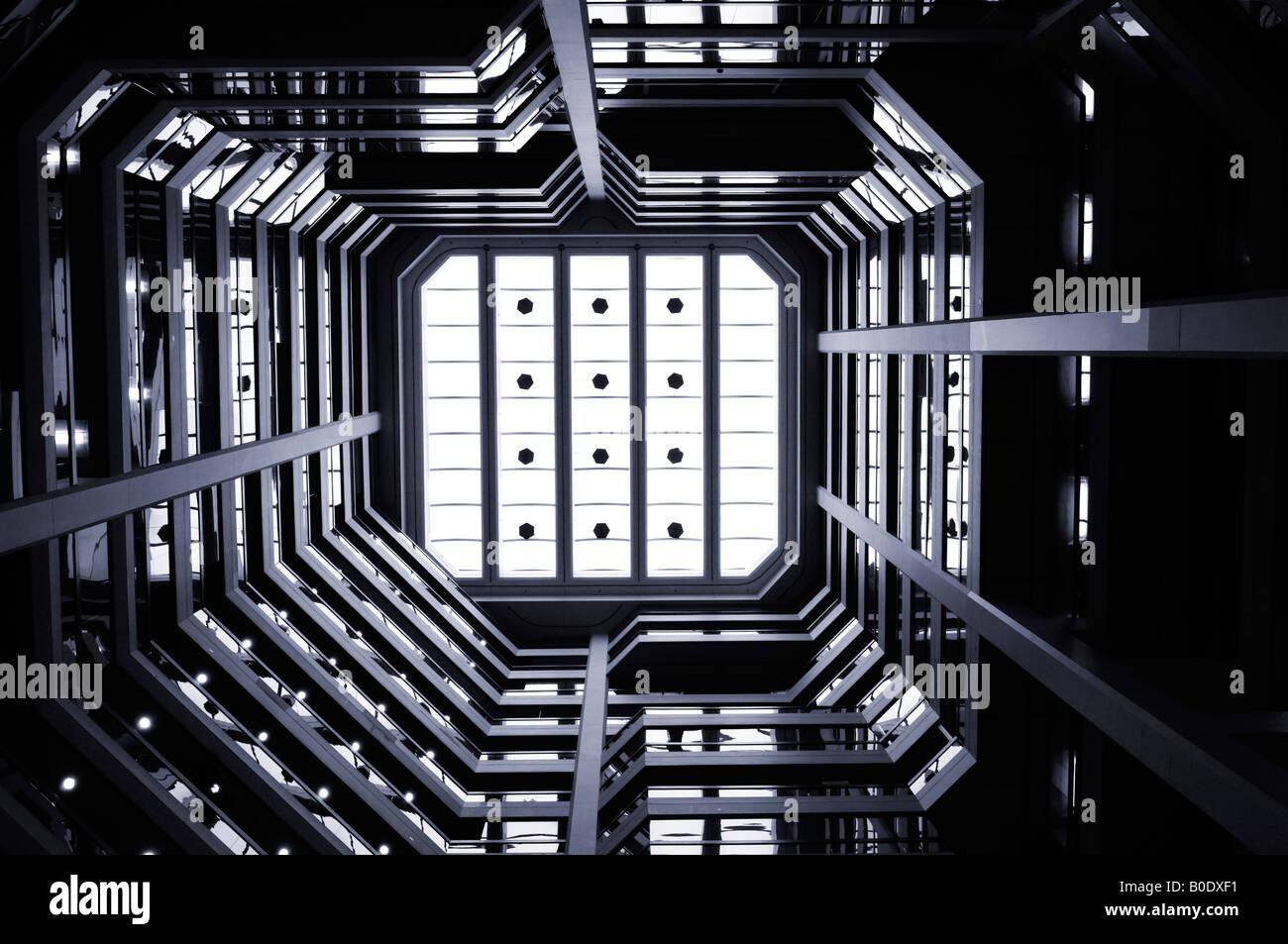 Abstrakt Architektur Stockbild