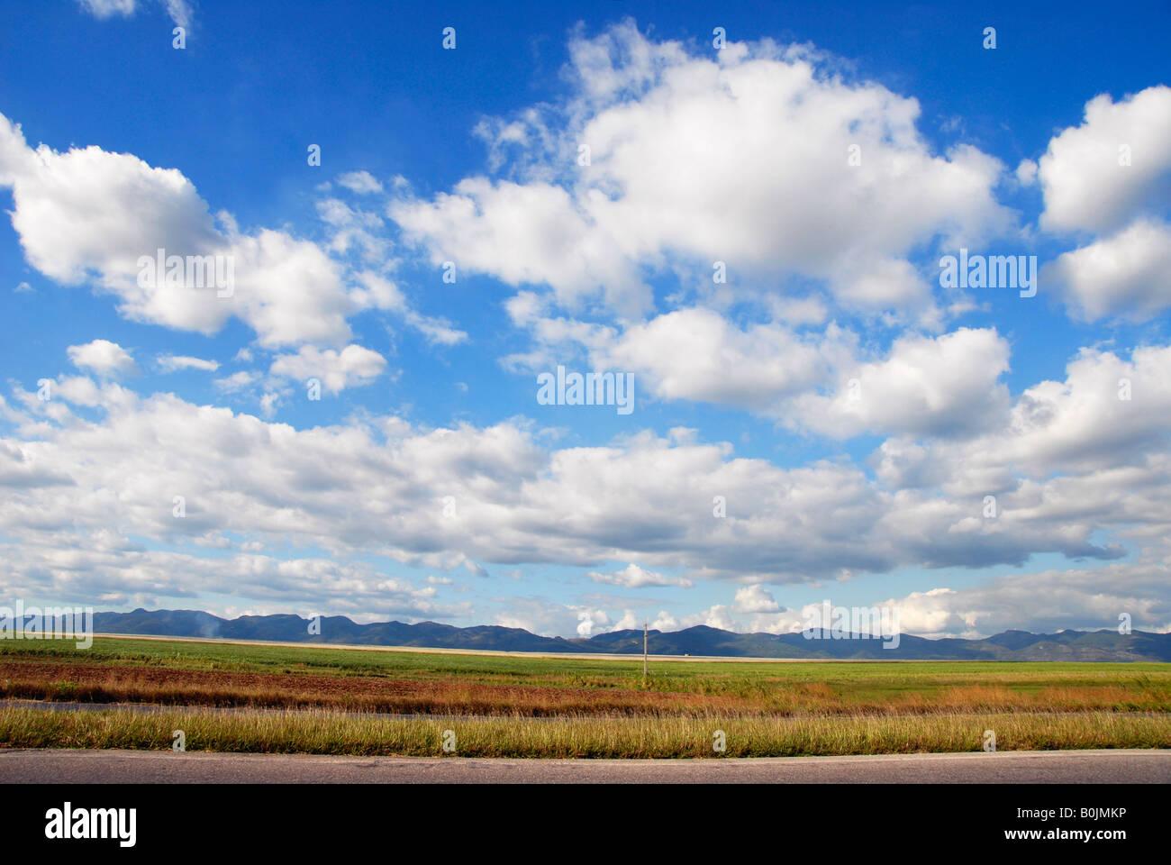 Kubanische Landschaft Kuba Stockbild
