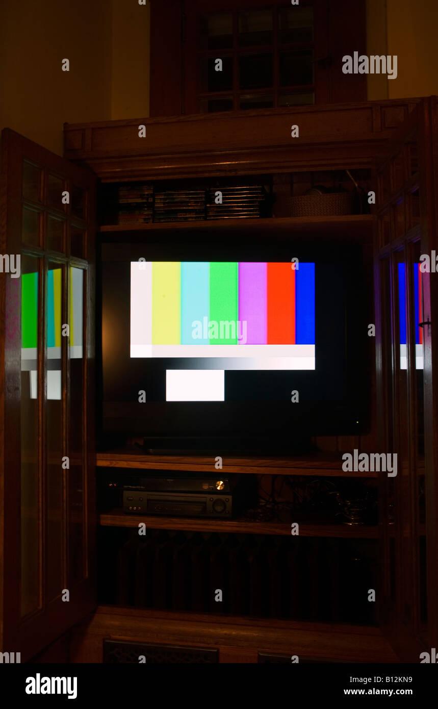 television test card stockfotos television test card bilder alamy. Black Bedroom Furniture Sets. Home Design Ideas