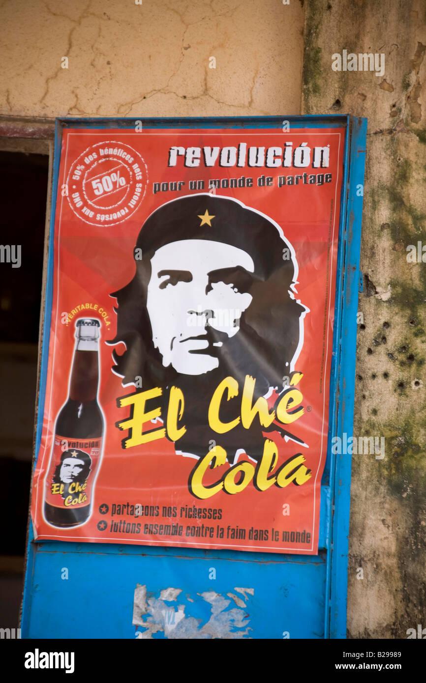 Che Guevara Poster Segou Mali Datum 04 04 2008 Ref ZB573 111917 0044 obligatorische CREDIT Welt Bilder Photoshot Stockbild