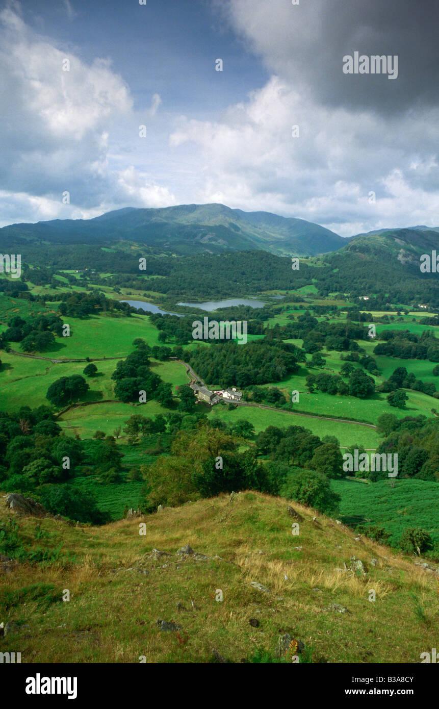Elter Wasser, Cumbria (Lake District), England, UK Stockbild