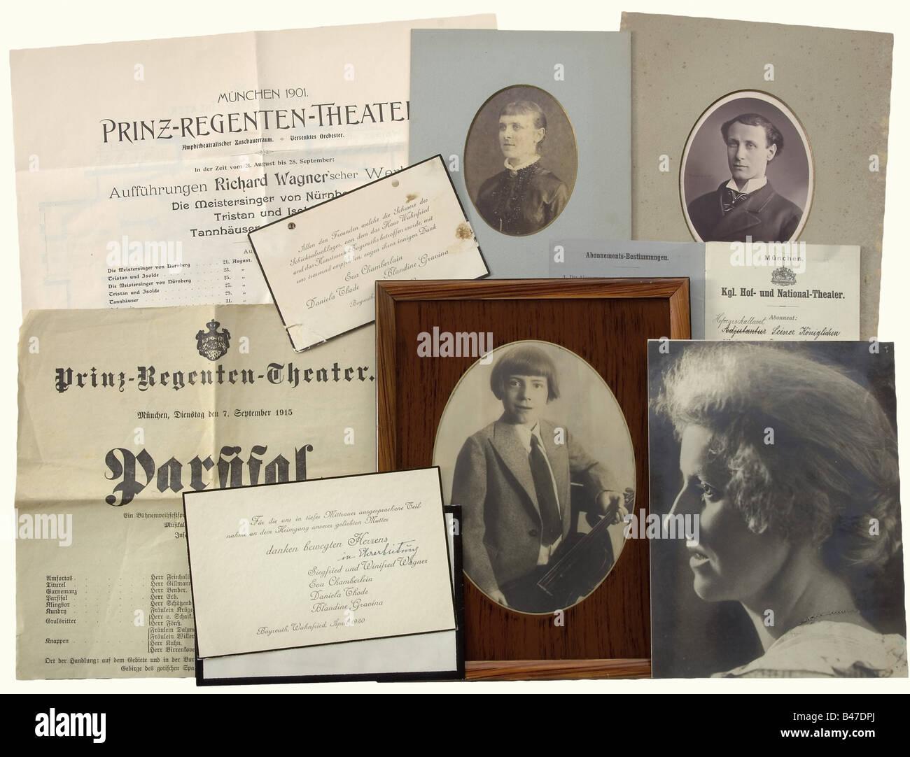 Briefe Von Wagner : Cosima stockfotos bilder seite alamy