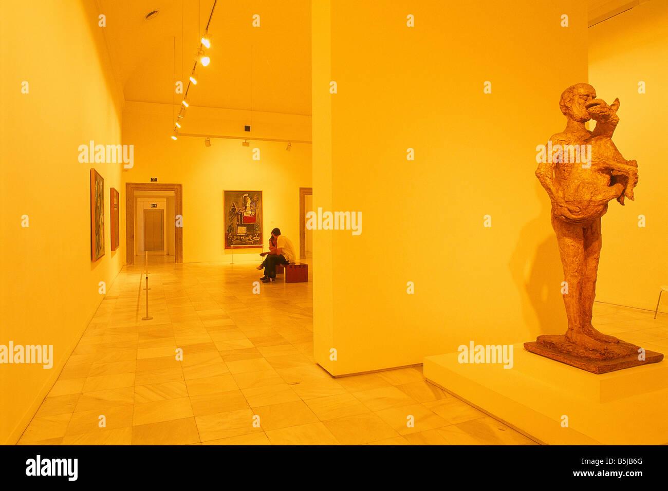 Spanien madrid k nigin sofia kunst mitte museum der for Kunst der moderne