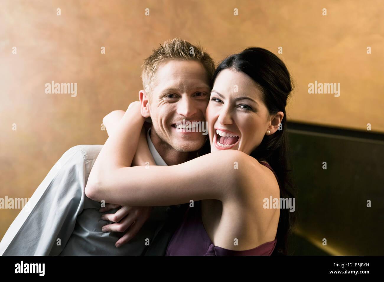 Frauen flirten miteinander
