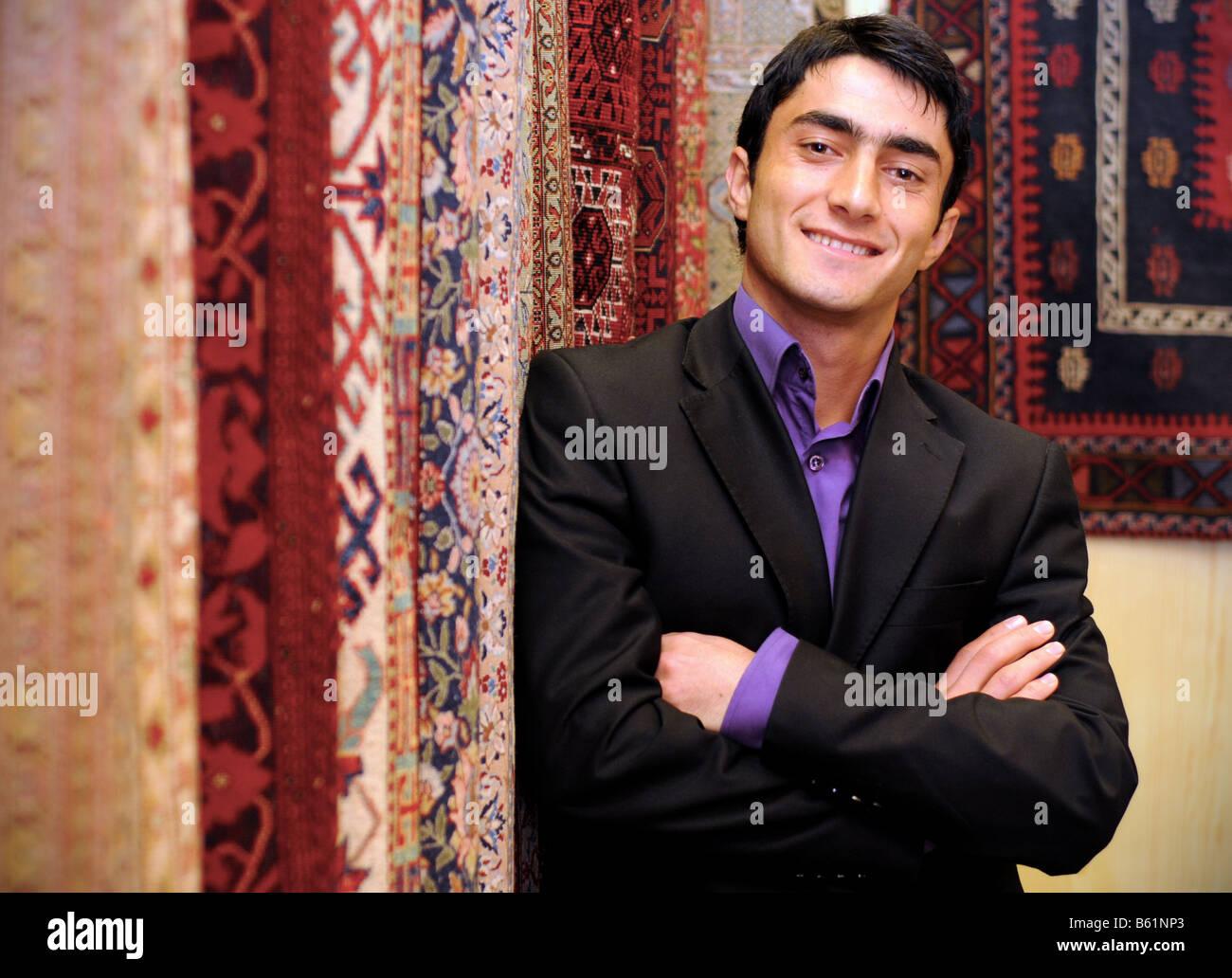 carpet salesman stockfotos carpet salesman bilder alamy. Black Bedroom Furniture Sets. Home Design Ideas