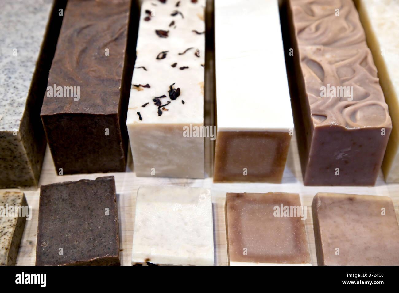 Duftende Seife Stücke Stockbild