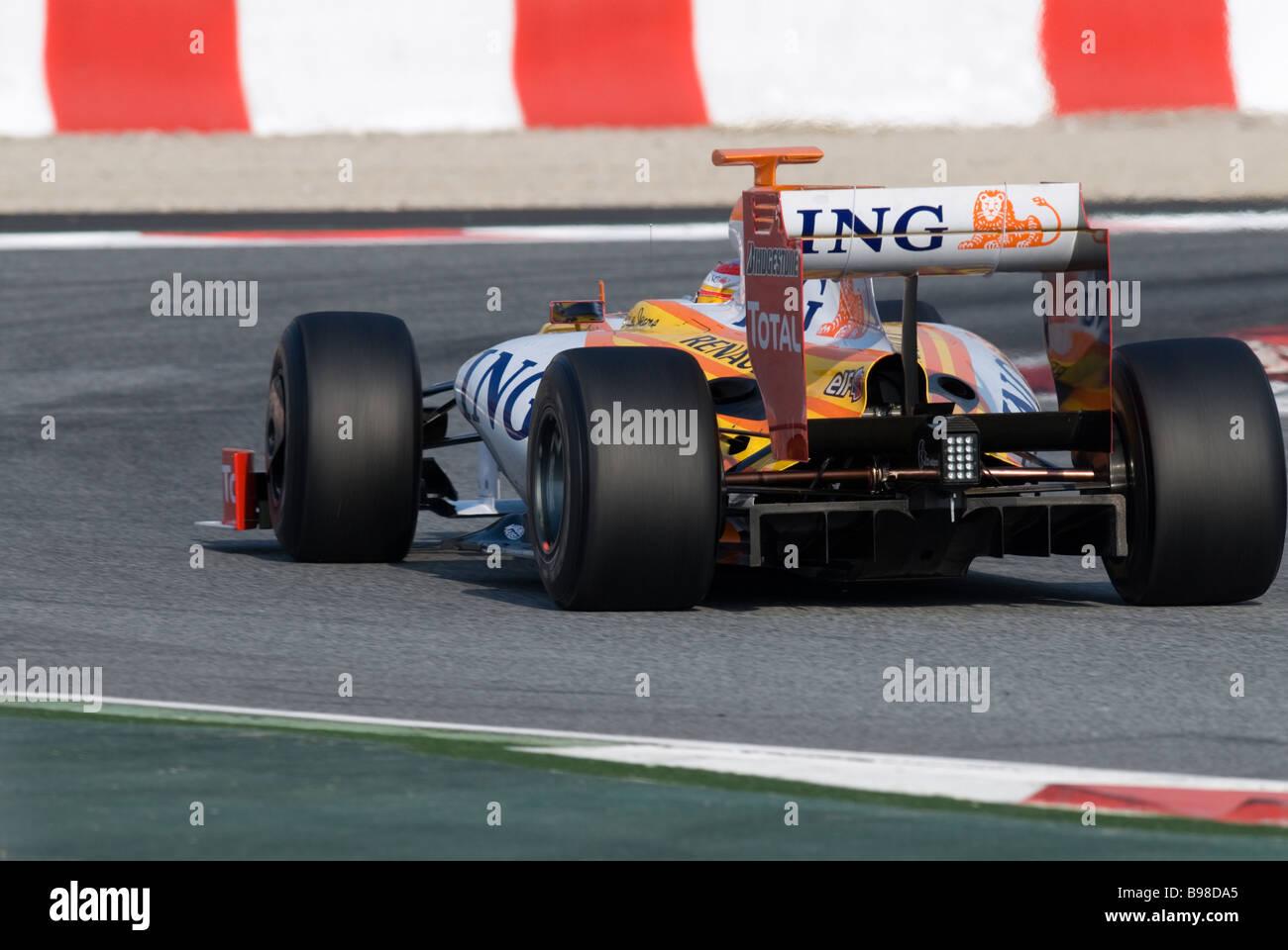 Motorsport; Rennen; Racing; Auto; Carrace; Rennwagen Stockbild