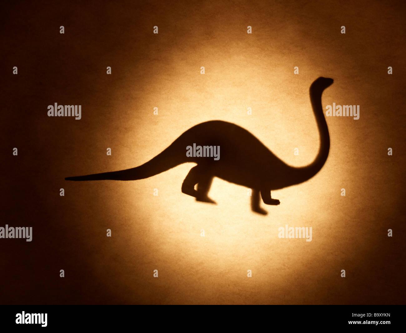 Mesozoikum Dinosaurier stegosaurus Stockbild