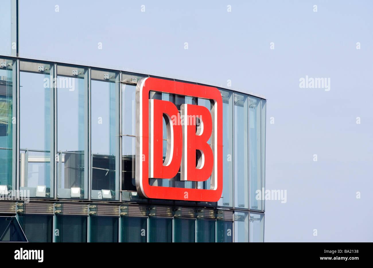 Sitz der Deutschen Bahn AG Stockbild
