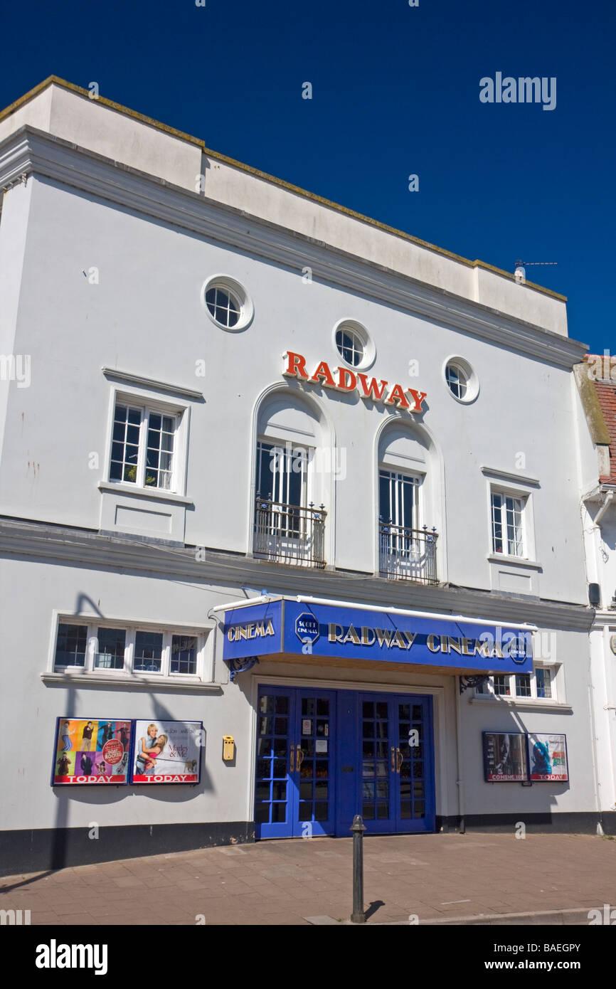 Radway Kino, Sidmouth, Devon Stockbild