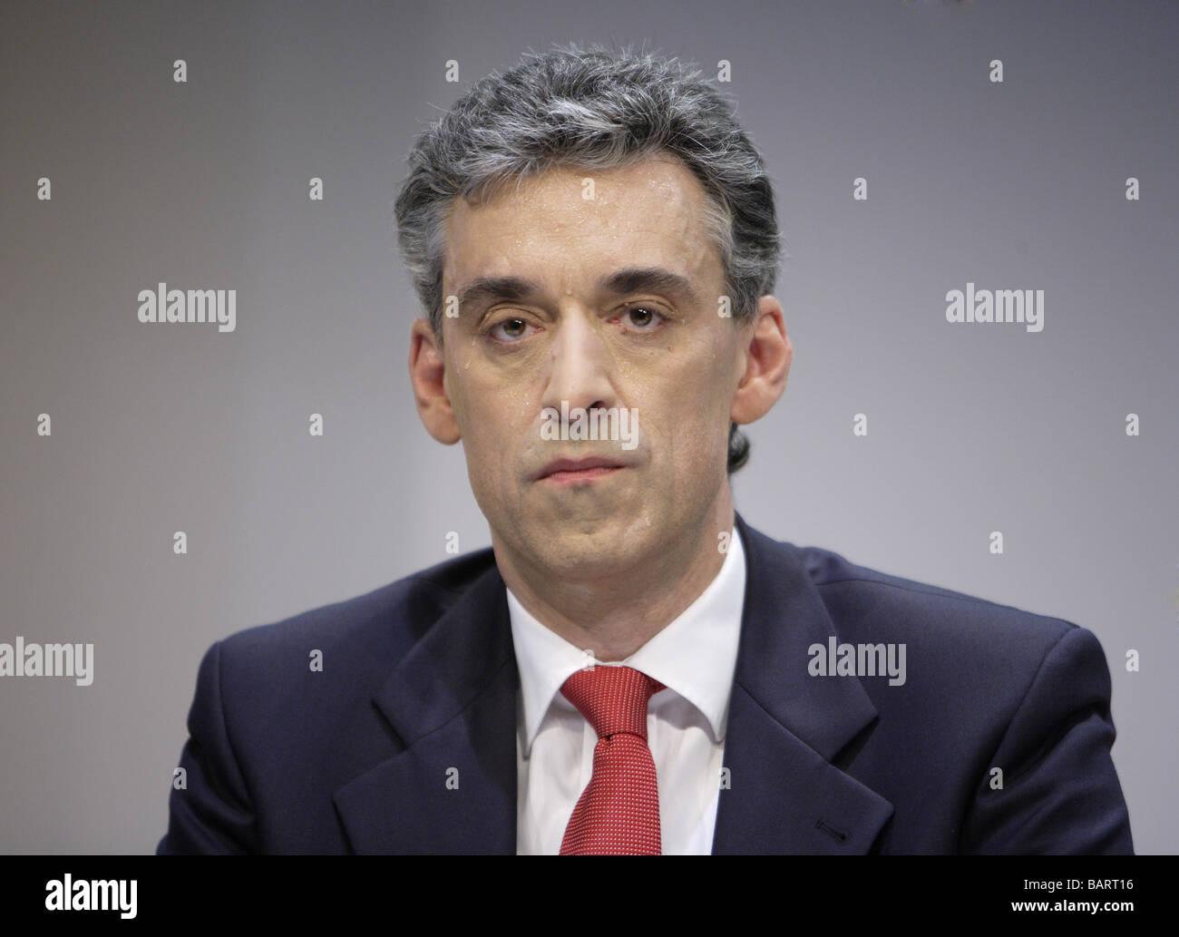 Frank APPEL CEO der Deutschen Post AG Bonn Deutschland Stockbild
