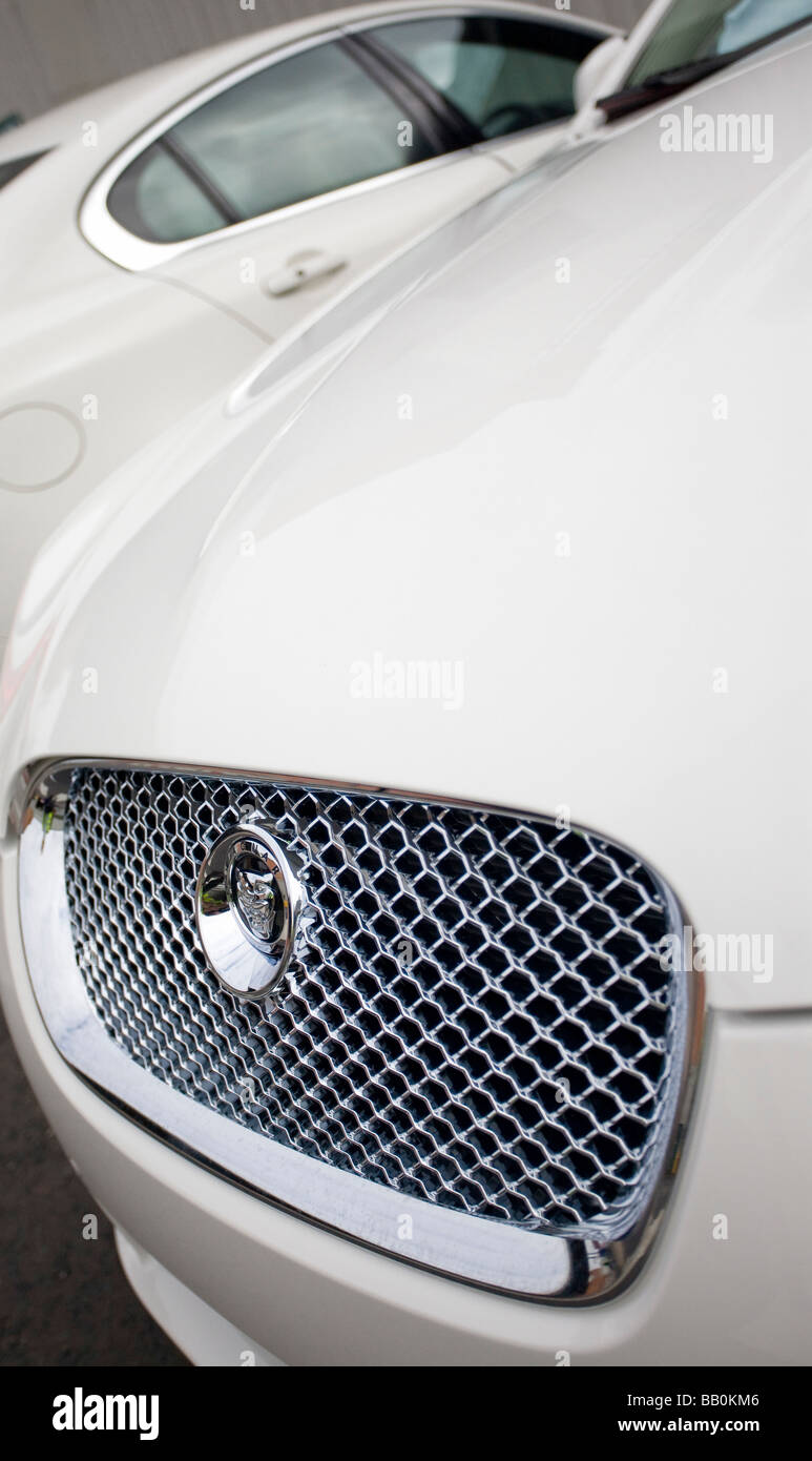 Jaguar Cars Castle Bromwich Stockbild