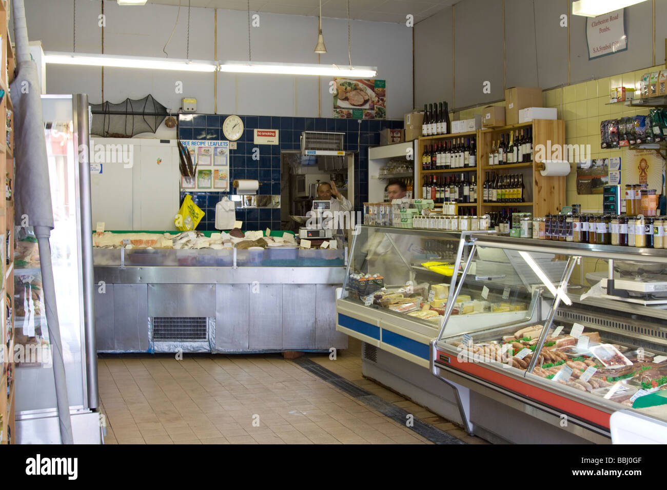 B & M Seafoods & Bio Metzger - Kentish Town - Camden - London Stockbild