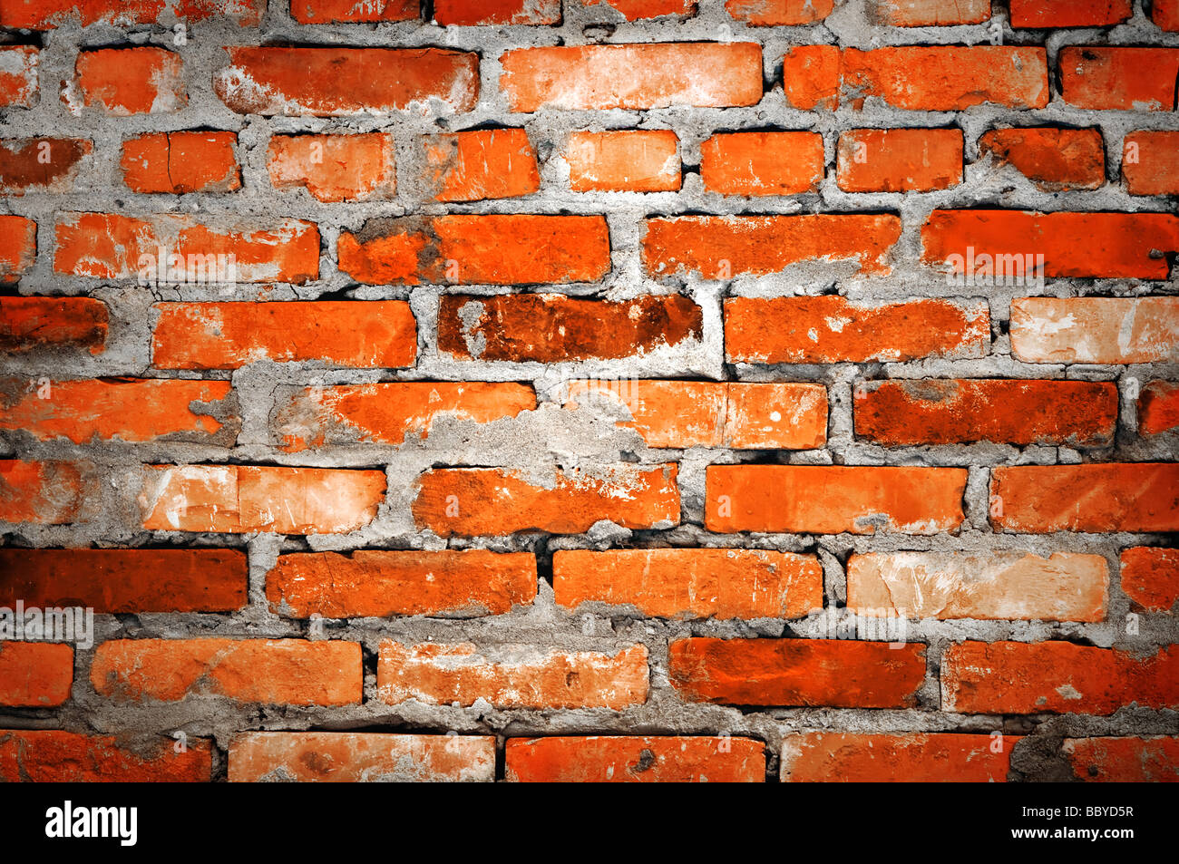gemauerte Wand closeup Stockfoto