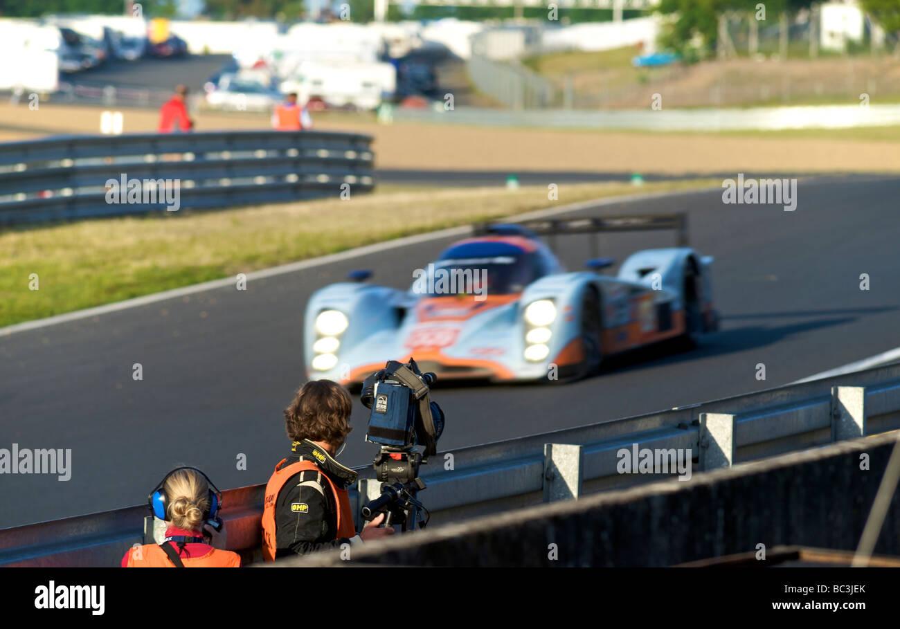 24 Stunden von Le Mans-Sportwagen-Rennen 2009 Stockbild