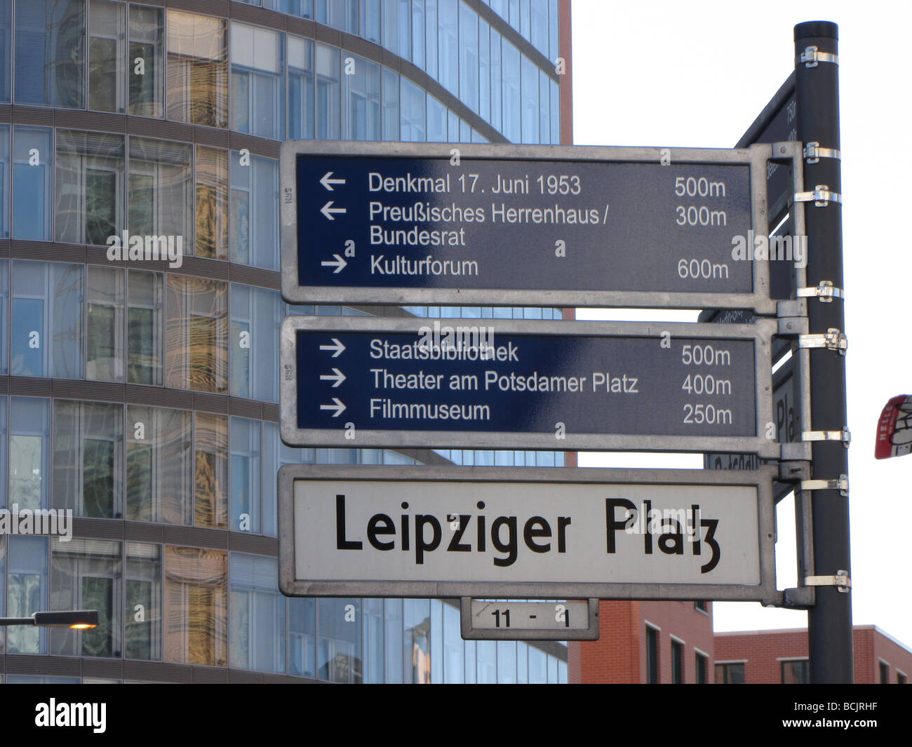 Deutschland Berlin Sehenswertes Mai 09 Stockbild