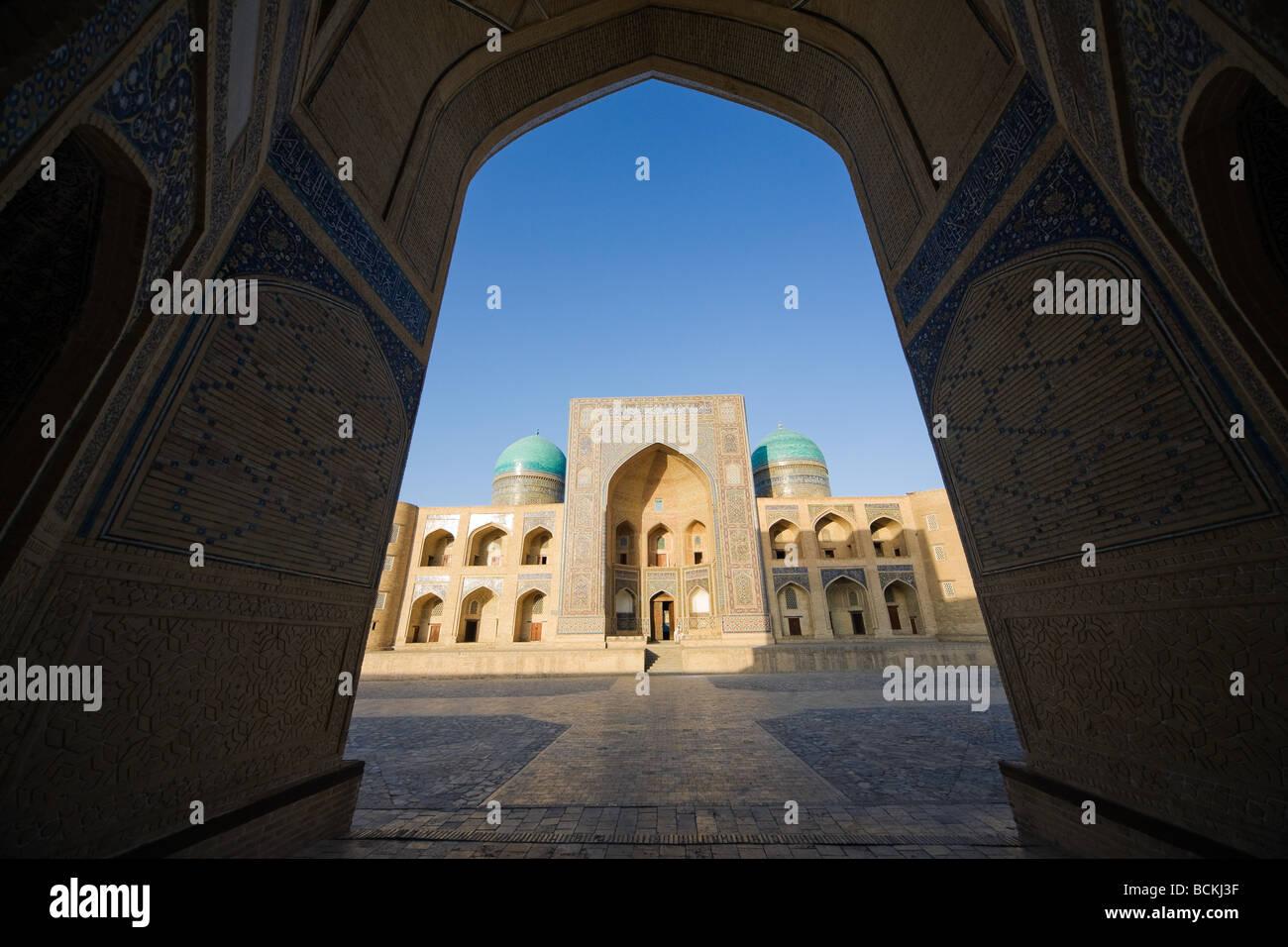 Eingang zur Moschee Stockbild